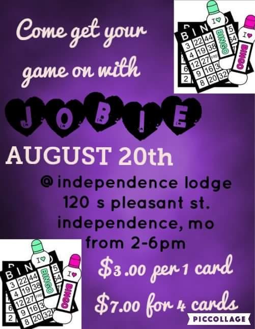 Bethel #29 Bingo Fundraiser @ Independence Lodge | Independence | Missouri | United States