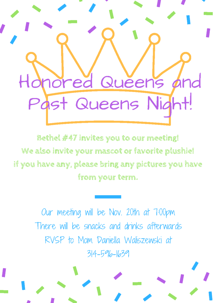 Bethel #47 Queens and Past Queens Night @ Freedom Masonic Temple | St. Louis | Missouri | United States