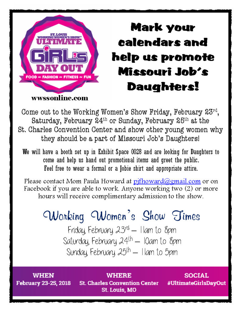 Working Women's Show @ St. Charles Convention Center | Saint Charles | Missouri | United States